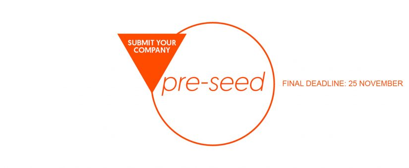 Our second Pre-Seed Investment Call for investment up to €200K is now open. Our Seed investment evaluations are ongoing and open throughout the year.